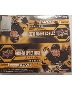 2019/2020 Upper Deck Series 1 Retail 24 pack box
