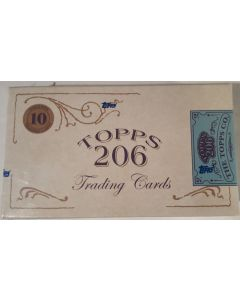 2020 T206 Series 1 Topps Box, 10 cards (8 base + 2 parrallels)