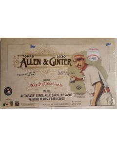 2020 Allen & Ginter Hobby Box 24 pk 3 hits per box (will ship on 9/17)