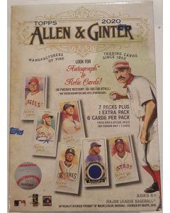 2020 Topps Allen & Ginter Blaster Box 8 packs 6 cards per pack