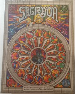 Sagrada : a game of Dice Drafting and Window Crafting..