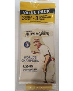 2020 Allen Ginter Cello Target 3 gold cards