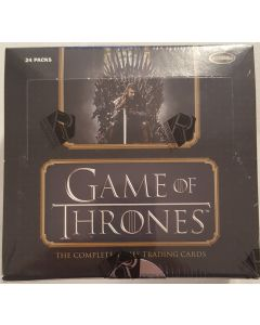 2020 Game of Thrones, the complete series  (cards from all 8 seasons) 2 autos per box