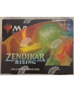 2020 Zendikar Rising sealed box collector Boosters 12pk + 2  box toppers
