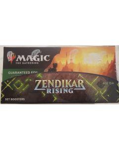 2020 Zendikar rising sealed box set Boosters 29 packs + single box topper