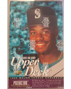 1995 Upper Deck Baseball Series 1 Hobby Box 36 pack w/special editions 1/pk