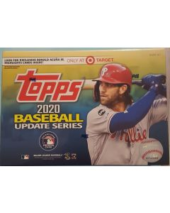 2020 Topps Update Target Mega-box 16 packs (16 cards a pack) Acuna Highlights