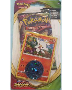pokemon Vivad Voltage (Scorbunny card/token) single pack.
