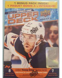 2020/21 Upper Deck Hockey 7 pk Blaster box