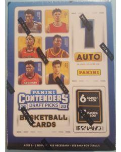 2020-21 Contenders Draft Picks Basketball 7 pks 42 cards total 1 auto per box on average