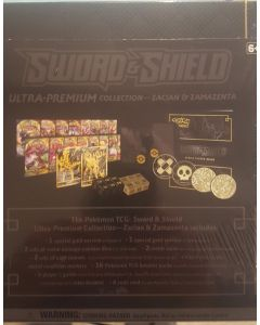 Pokemon sword & Shield Ultimate Collectors Set (Zacian, & Zamazeta)