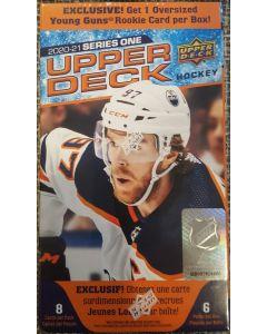 2020 Upper Deck Hockey Blaster 6 pk w/oversized Young Gun (WM)