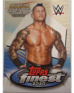 2020 Finest WWE Wrestling Cards 6 Packs + Bonus 2 card x-fractor pack