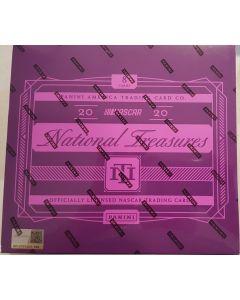 2020 National Treasures Racing Hobby Box 1 pack 8 cards