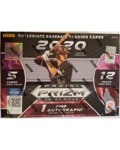 2020 Prizm Baseball Draft Picks Megabox (Target) 1 auto and 12 exclusive Hyper red/purple Prizm