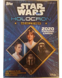 Star Wars Holocron series Blaster Box 10 packs + medallion card