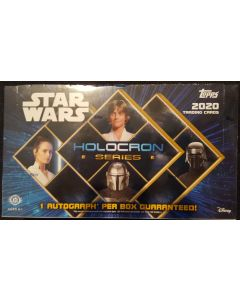 2020 Star wars Holocron Hobby box 1 auto Guarantied + relic/sketch possible