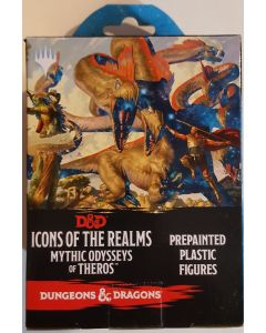 Dungeons & Dragons Figure Set Icons of the Realms Mythic odysseys of Theros. Pre painted figure set of 4 figures