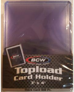 BCW 108 PT Toploaders (10 pc pk)