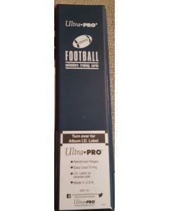 "Ultra Pro 3"" Blue Football Binder (D-Ring)"