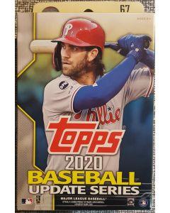 2020 Topps Update Hanger Box 67 cards
