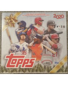2020 Topps Holiday Baseball Megabox 10 packs 1 auto/relic/auto relic per box on average