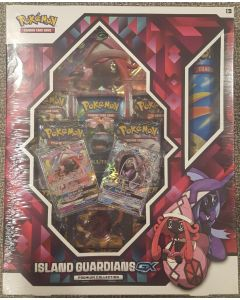 pokemon Island Guardians GX Premium Collection  8 packs playmat + other nice foil cards