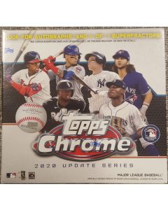 2020 Topps Chrome Update 7 packs 4  cards (28 cards total)