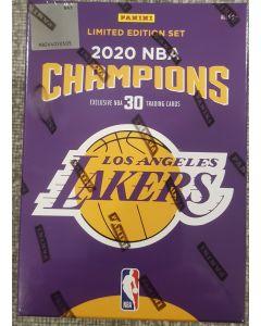 Panini 2020 Season Lakers championship 30 card set in box Limited edition