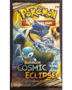 pokemon Cosmic Eclipse single booster pack (sun/moon)
