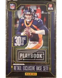 2020 PLaybook Hanger Box 30 cards a box 5 Orange parrallels (Walmart)