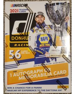 2021 Donruss Racing Blaster box 7 packs 56 cards