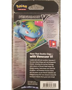 Pokemon Venusaur V Deck Box (60 card deck ready to play)