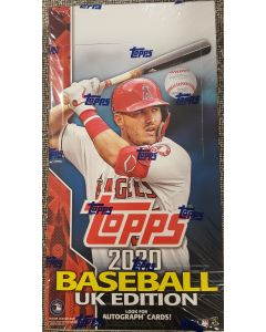 2020 Topps UK Baseball Hobby Box 24 packs.
