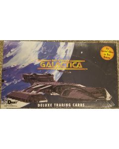 Dart Battlestar Galactica Trading Cards (origional series 1977)  30 packs 7 cards. 72 card set.