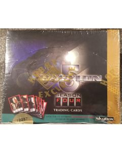 Skybox Babylon 5 Series 4 Trading Cards 36 packs, 10 Diff autos available 1 in 90 packs
