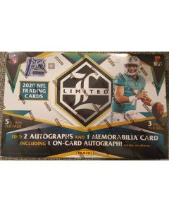 2020 FOTL Panini Limited Football Box 2 auto's 1 Relic