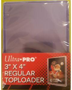 Ultra-Pro Regular top Loader 25PK sold in 4pk lots (100 top loaders)