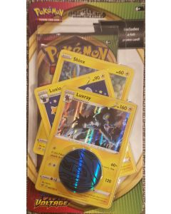 Pokemon S&S Vivid Voltage 3-foil set + 1 pack Luxray