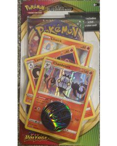 Pokemon S&S Vivid Voltage 3 foil Chandelure +1 pack V. V.