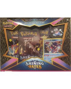 Pokemon Shining Fates pin Collection Galarian Mr. Rime