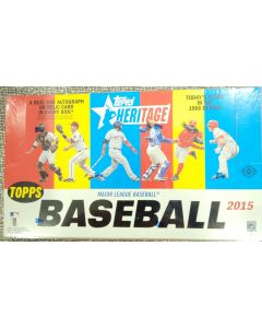 2015 Heritage Hobby low series 1-500 Box 24 packs 9 cards per pack