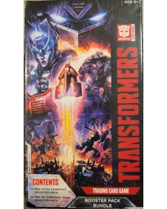 WOC Transformers Booster Pack Bundle 3 pks 1 ROC, 2 pks WFC: seige packs