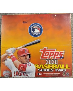 2020 Topps Series 2 Retail  24 pack 16 cards per  pack Jumbo