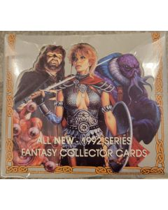 TSR 1992 advanced Dungeons & Dragons Fantasy Collectors Cards Box 36 packs 16 cards pack