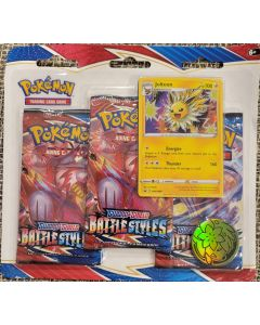 Pokemon Jolteon Battle Styles 3 PK Carded