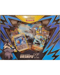 Pokemon Rapid Strike UrshifuV Box set Blue