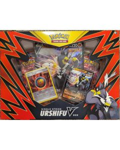 Pokemon Single Strike UrshifuV red Box