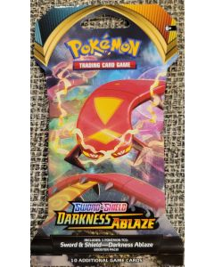 Pokemon Darkness Ablaze 10 Card Booster Pack (single pack)