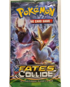 Pokemon XY Fates Collide single pack 10 cards